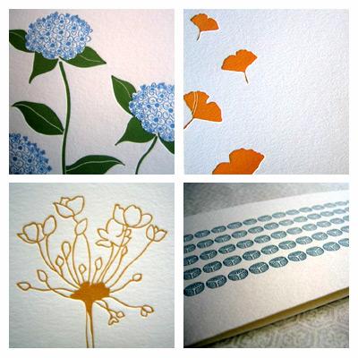 Satsuma Letterpress Cards