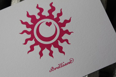 Shimmer Studio Letterpress Cards