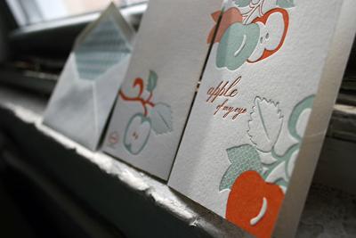 Smock Letterpress Greeting Cards
