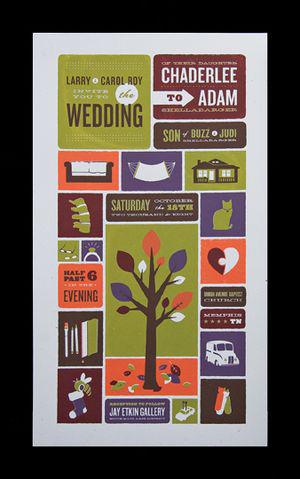 Spark Machine Wedding Invitation