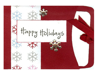 Specialty Cards 4 U Holiday Pocket Card