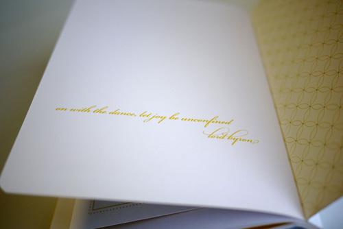 Modern Storybook Wedding Invitations