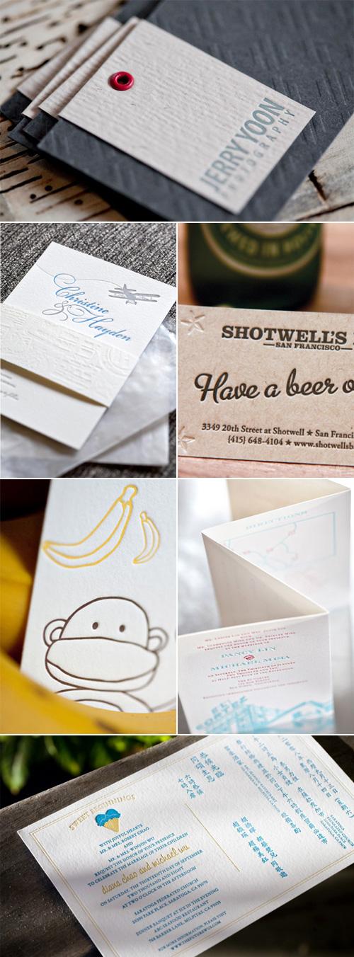 Subtle Glances Letterpress