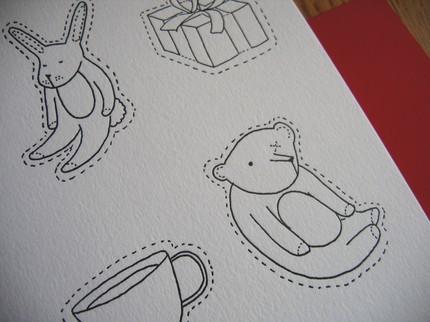 Letterpress Paper Dolls