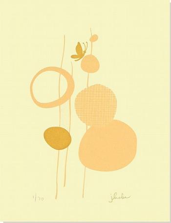 Treetop Studio Gocco Print