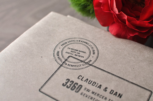Letterpress 30th Birthday Party Invitations