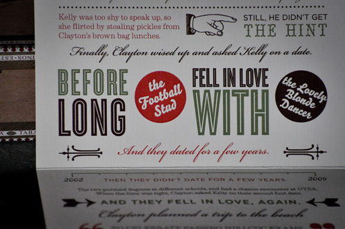 Texas Vintage Music Poster Inspired Save the Dates