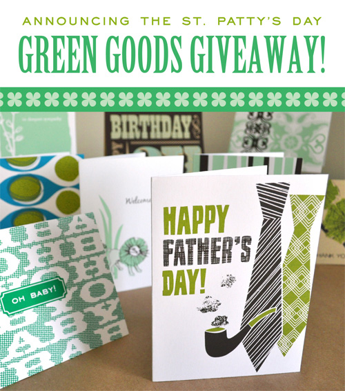 Green Goods Giveaway