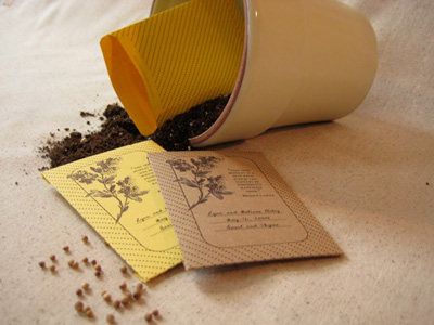 Erin Vale Seed Packets