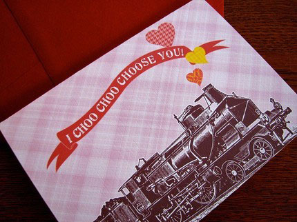 Earmark Valentine's Day Card