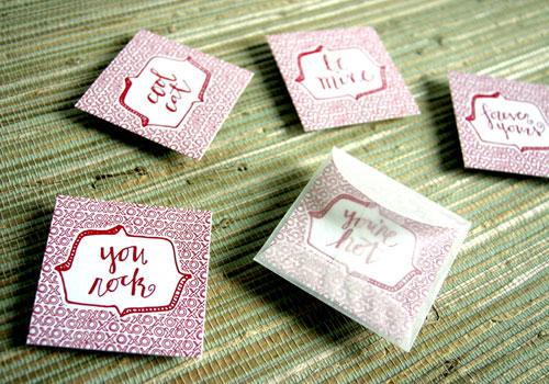 Spring Olive Valentine's Day Cards