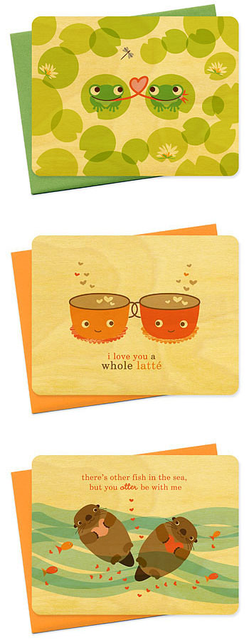 Night Owl Birch Cards Valentine's Day