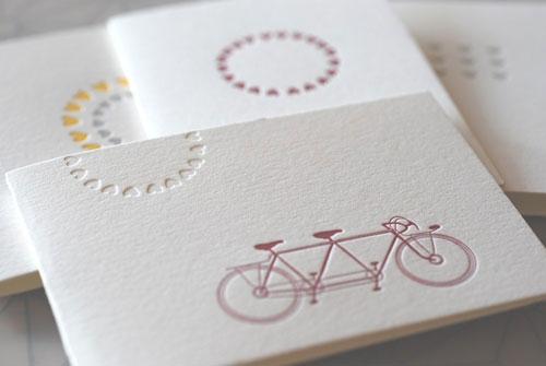 Satsuma Letterpress Valentine's Day Cards