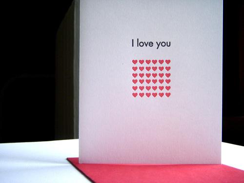 Vandalia Street Press Valentine's Day Cards