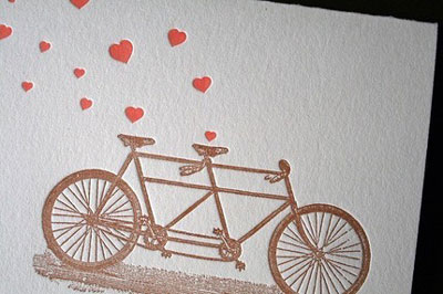 Lark Press Letterpress Valentine