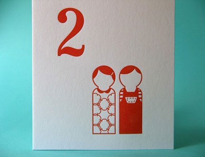 Sweetbeets Letterpress Card