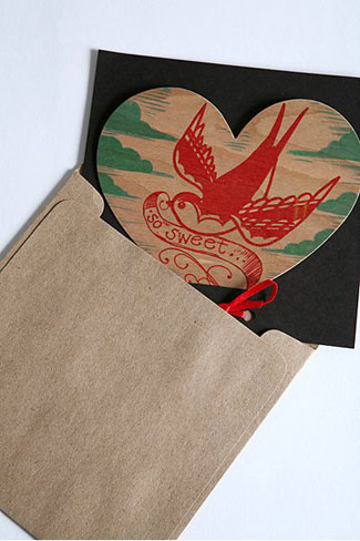 Urban Outfitters Sparrow Valentine