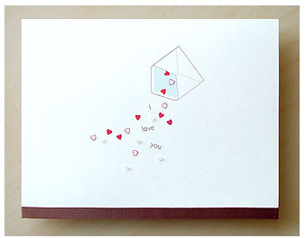 Dear Monday I Love You Card