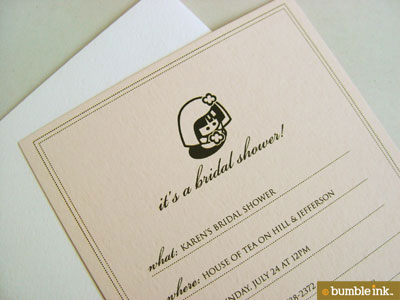Bumble Ink Custom Invitations