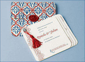Dauphine Press Venetian Save the Date Cards