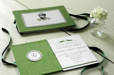 Mr. Boddington's Studio Croquet Wedding Invitation