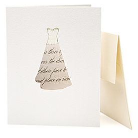 Remanents Custom Couture Fabric Card