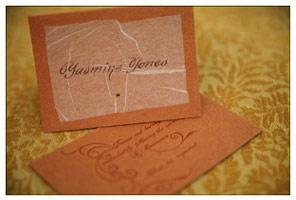 Soolip Jasmine Custom Wedding Invitations