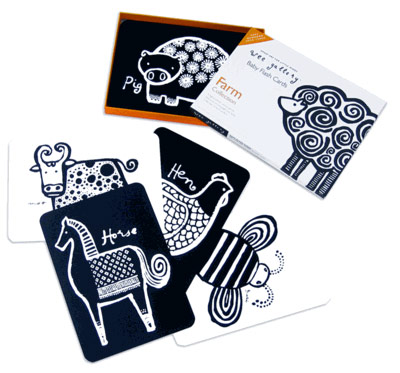 Wee Gallery Baby Flash Cards