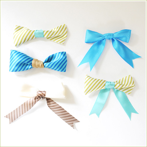 DIY No Sew Ribbon Bows