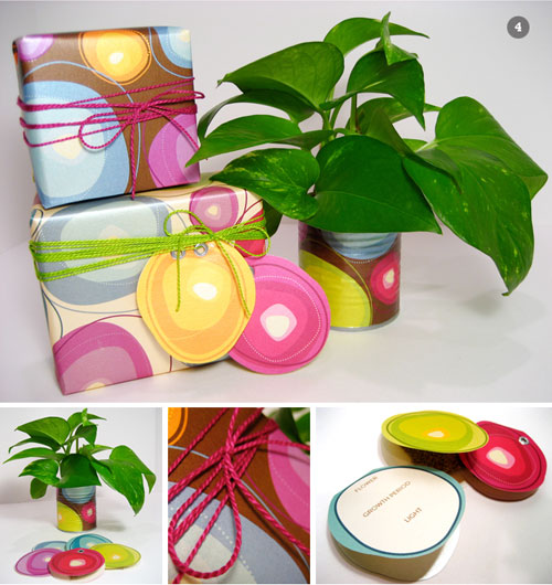 DIY Summer Gift Wrap Ideas