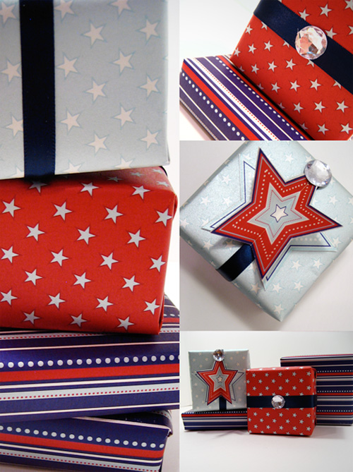 Fourth of July Gift Wrap Ideas